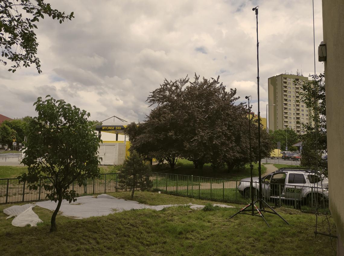 Pomiary hałasu od myjni bezdotykowej we Wrocławiu