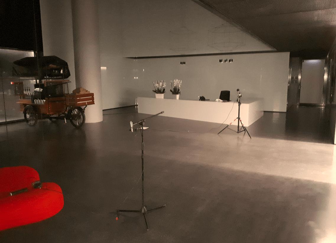 Audyt akustycznych w ramach certyfikacji Breaam dla budynku biurowego w Poznaniu.